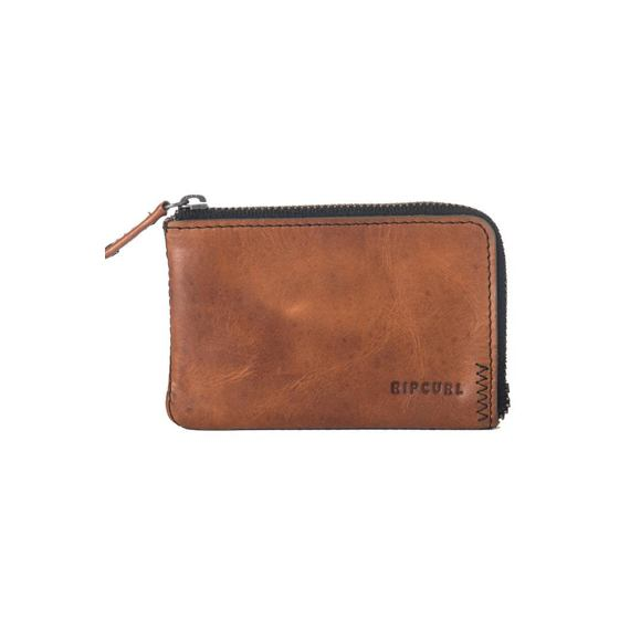 Peněženka Rip Curl HANDCRAFTED ZIP COIN SLIM  Brown