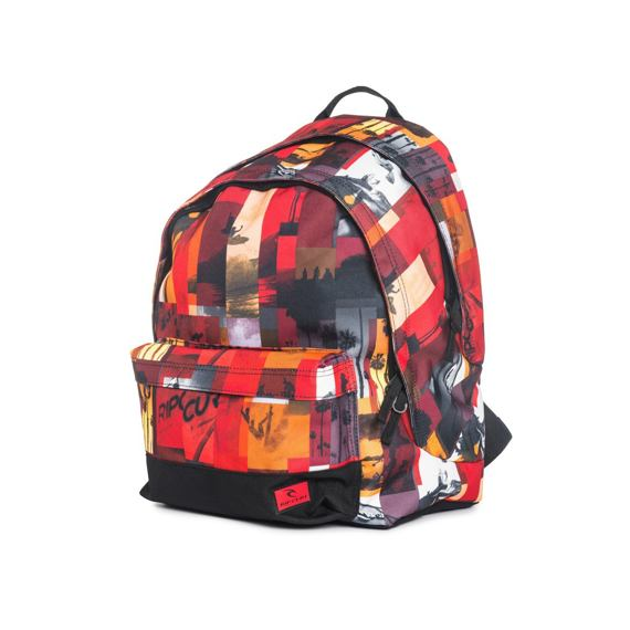 Batoh Rip Curl PHOTO VIBES DOUBLE DOME Red