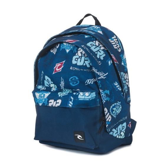 Batoh Rip Curl HERITAGE LOGO DOUBLE DOME  Blue