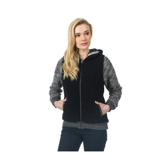 Mikina Ripcurl KITIMAT POLAR FLEECE  Black Marled