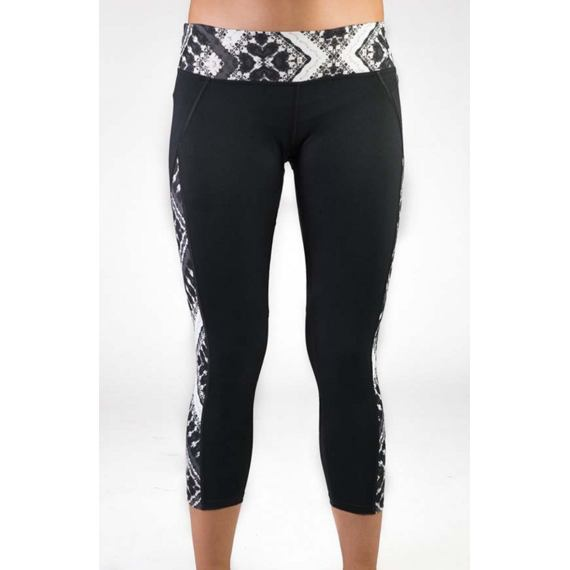 Legíny Hurley DRI-FIT PANELED LEGGING Black T