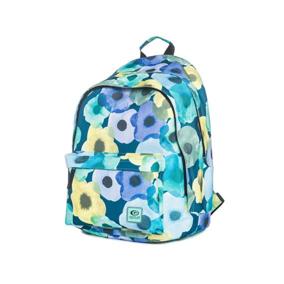 Batoh Rip Curl FLOWER MIX DOUBLE DOME Blue
