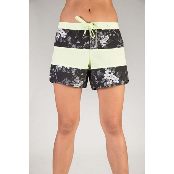 Plavky Hurley PHANTOM PRINTED 5 BEACHRIDER Black W
