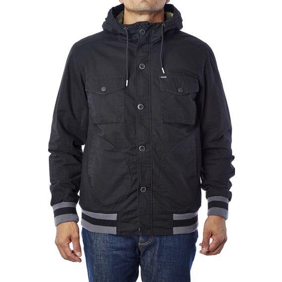 Bunda Hurley ALL CITY TROOPS JACKET Black