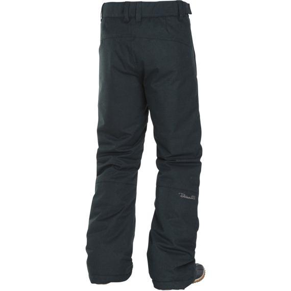 Kalhoty Rehall HELI-R black melange