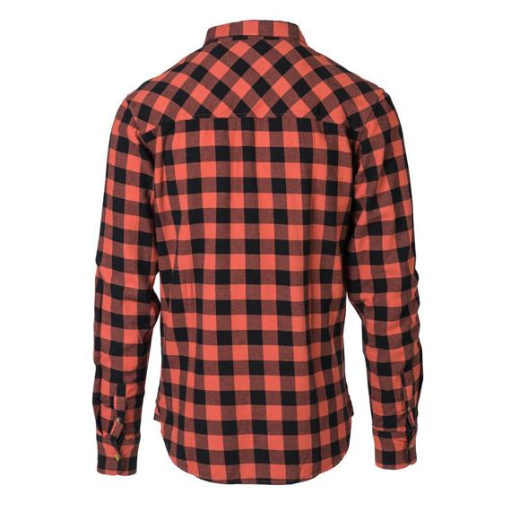 Košile Rip Curl CHECK IT LS SHIRT  Mineral Red