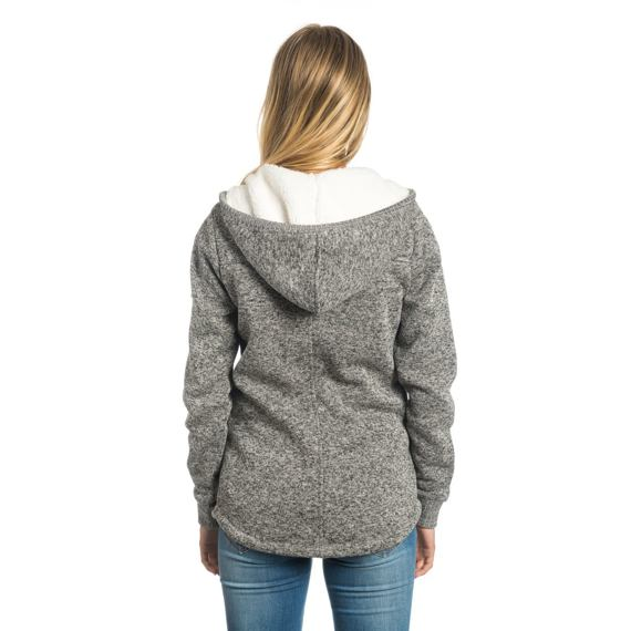 Mikina Rip Curl ACTIVE HEATHER POLAR FLEECE Frost Grey