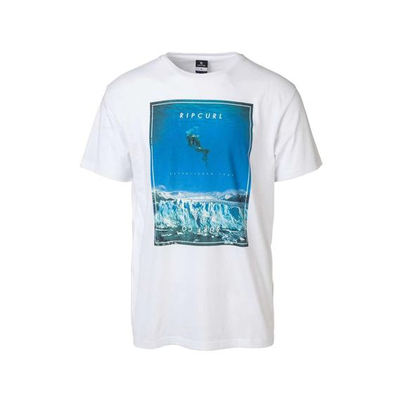 Tričko Ripcurl GOOD DAY BAD DAY TEE  White/Blue