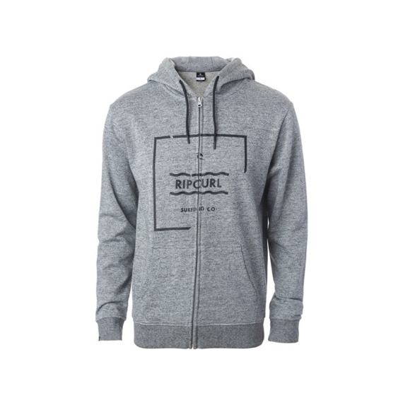 Mikina Rip Curl BROKEN SQUARE FLEECE  Cement Marle