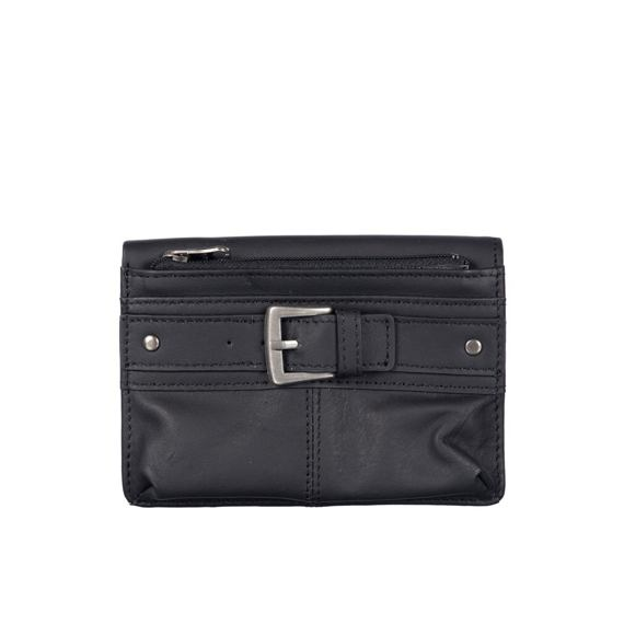 Peněženka Animal LEATHER WALLET Black