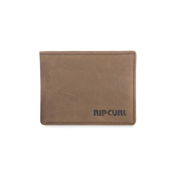 Peněženka Rip Curl ORIGINAL LEATHER WALLET Brown