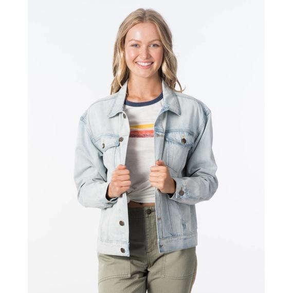 Bunda Rip Curl KEEP ON SURFIN DENIM JACK  Bleach