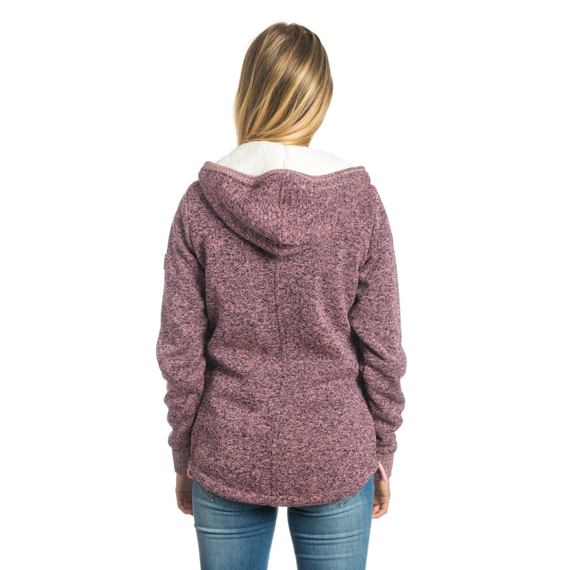 Mikina Rip Curl ACTIVE HEATHER POLAR FLEECE Shell Pink