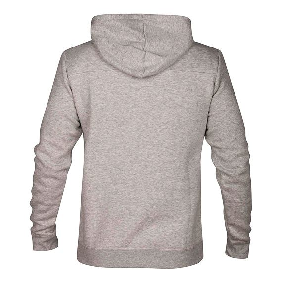 Mikina Hurley SURF CHECK ONE & ONLY PULLOVER Dk Grey Heather/(White)