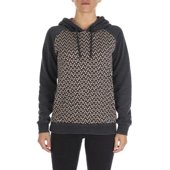 Mikina Rip Curl CHIMAIRA FLEECE Black Marled