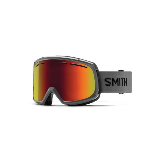 Snow brýle Smith RANGE Charcoal | Red Sol-X