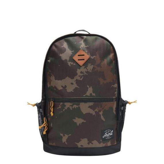 Batoh Animal FRONTSIDE Camo Green