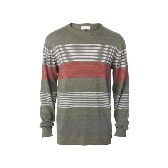 Svetr Rip Curl CAPTAIN SWEATER  Dusty Olive