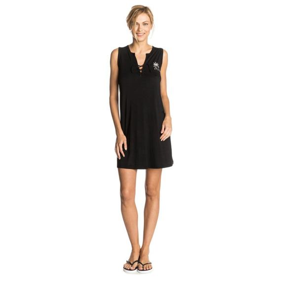 šaty Rip Curl PALM COVE DRESS  Black