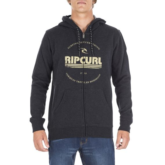 Mikina Ripcurl BIG MAMA ZINC HZ FLEECE Dark Marle