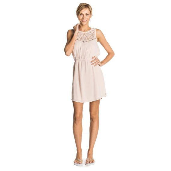 šaty Rip Curl SHELLY DRESS  Silver Peony