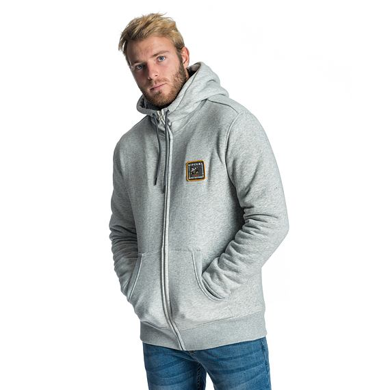 Mikina Rip Curl AGGRO FLEECE  Cement Marle