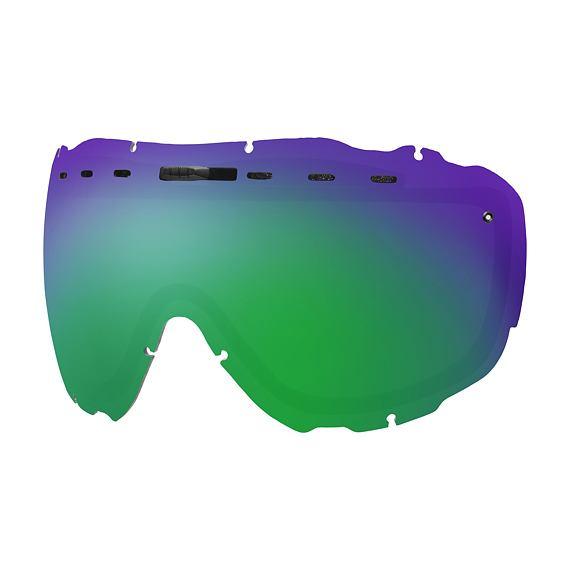 Náhradní sklo Smith L PROPHECY Green Sol-X