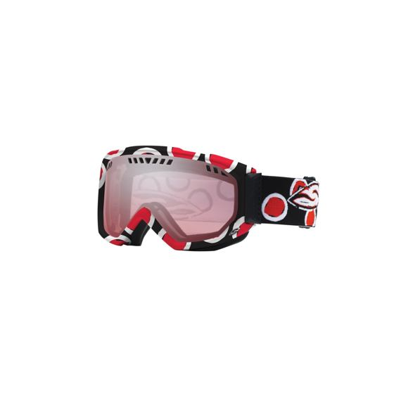 Snow brýle Smith SCOPE GRAPHIC Black/Red Dots