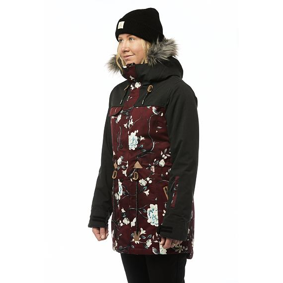 Bunda Rojo TASK JACKET Winter Floral