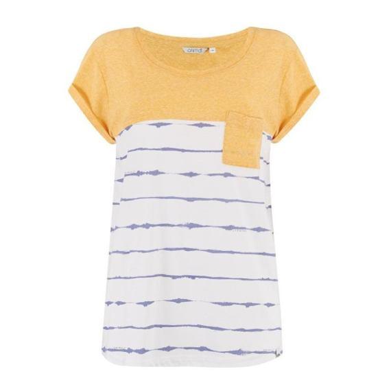 Tričko Animal SEA STRIPES Sunshine Yellow Marl
