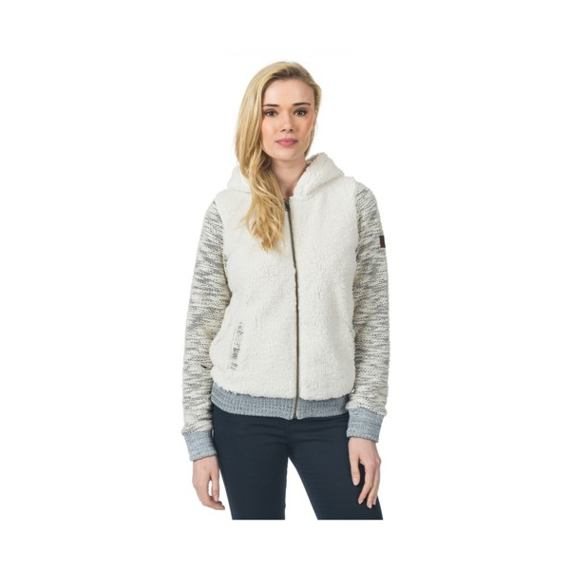 Mikina Ripcurl KITIMAT POLAR FLEECE  Ecru Marle