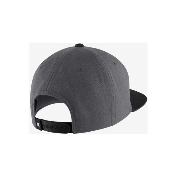 Kšiltovka Hurley ONE & ONLY SNAPBACK Anthracite