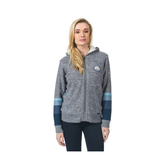 Svetr Rip Curl SUNSET SWEATER  Steel Marle