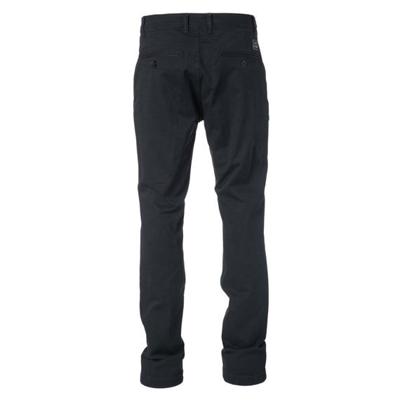 Kalhoty Rip Curl TRAVELLERS STRAIGHT CHINO PANT Black