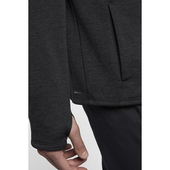 Mikina Hurley DRI-FIT EXPEDITION ZIP Black Heather
